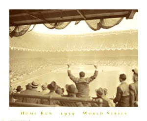 """Home Run - 1939 World Series"" (Yankee Stadium) - NYGS"