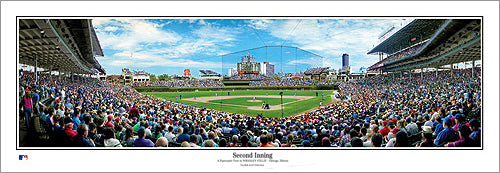 "Wrigley Field ""Second Inning"" Cubs Gameday Panorama - Everlasting Images"