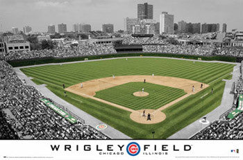 Wrigley Field Chicago Cubs Gameday Poster - Costacos 2009