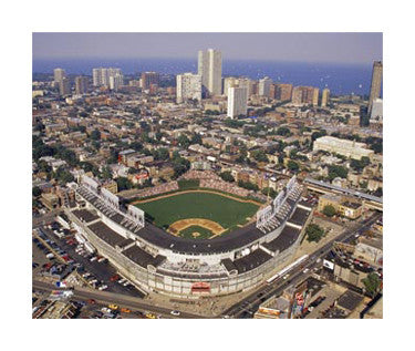 """Wrigley Field Masterpiece"" Giclee-on-Canvas Print - Photofile"