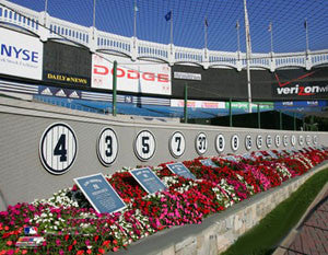 Monument Park at Old Yankee Stadium - Photofile Inc.