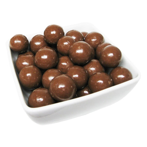 Double Dipped Milk Chocolate Malt Balls-Manufacturer-Half Nuts