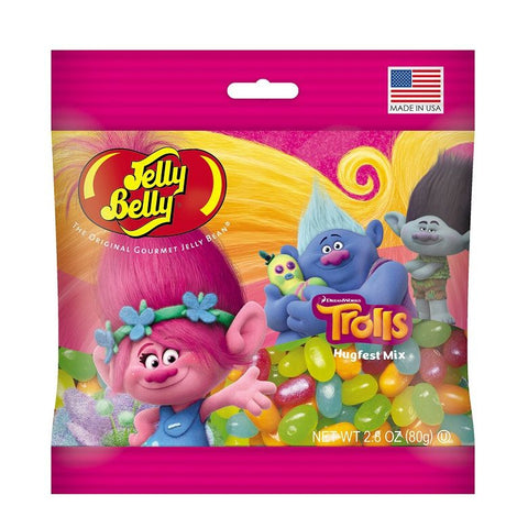 Jelly Belly DreamWorks© Trolls Jelly Beans-Half Nuts-Half Nuts