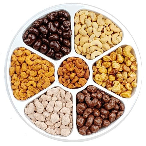 Crazy About Cashews Party Tray-Half Nuts-Half Nuts