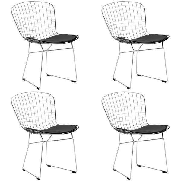 Chair Black / Set Of 4 Morph Side Chair (Set of 4)