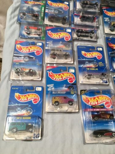 Lot of 37 Hot Wheels Diecast Cars First Editions Treasure Hunt Larry's Garage   - TvMovieCards.com