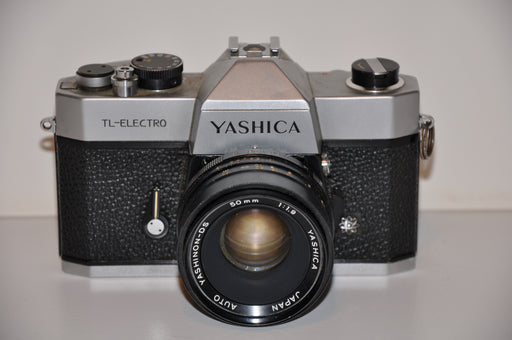 Yashica TL-Electro 35mm Film SLR Camera with Yashinon-DS 50mm f1.9 Lens   - TvMovieCards.com