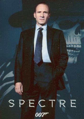 James Bond Classics 2016 Spectre Metal Gallery Chase Card G3 #044/150   - TvMovieCards.com