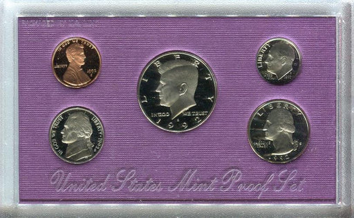United States Mint Proof Coin Set 1992   - TvMovieCards.com