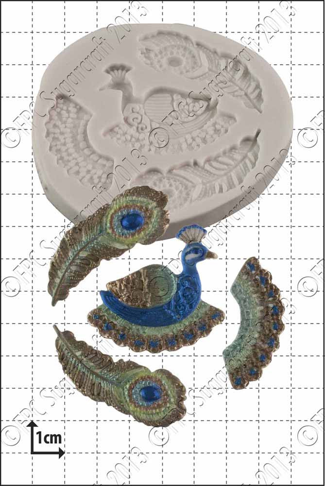 Filigree Peacock FPC Mould