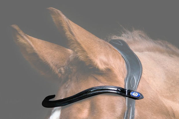 U-Shaped Patent Browband, Browband, Ps of Sweden - Laura's Tack Room