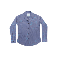 "Kealopiko ""Limited Edition"" Aloha Button Down Ladies Shirt"