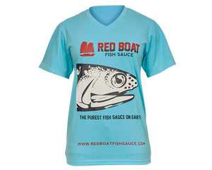 Red Boat T-Shirt Anchovy Head