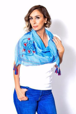 """The Knot"" Scarf - La Perla Home in Montrose CA"