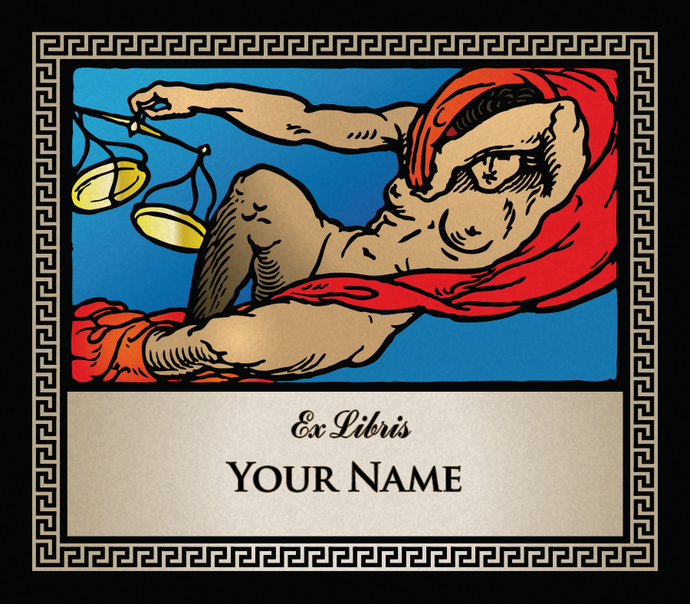 Libra the Scales • Ex Libris Your Name