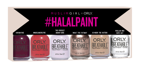 #HalalPaint By Muslim Girl x ORLY (6 shade kit)
