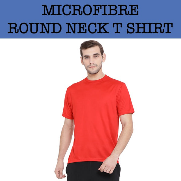microfibre dri fit round neck t shirt corporate gifts door gift
