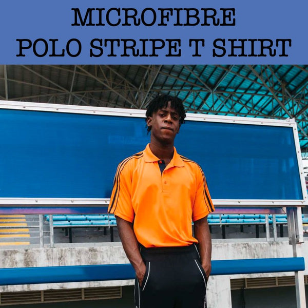 stripe polo t shirt corporate gifts door gift