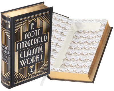 F. Scott Fitzgerald Classic Works (Leather-bound)