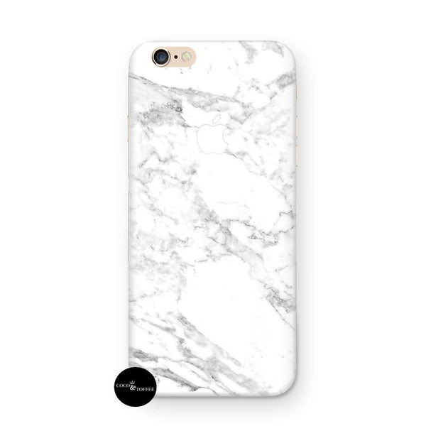 White Marble iPhone Skin