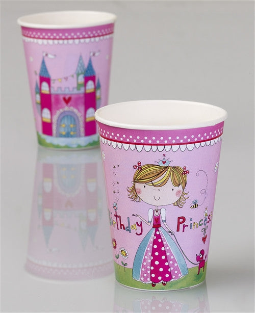 8 Princess Cups