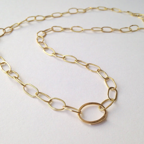 Handmade 18 ct gold chain