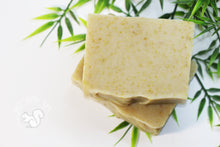 Lemongrass and Lavender soap with goat's milk and calendula