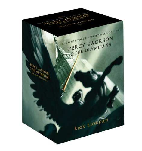 Percy Jackson pbk 5-book boxed set (Percy Jackson & the Olympians)