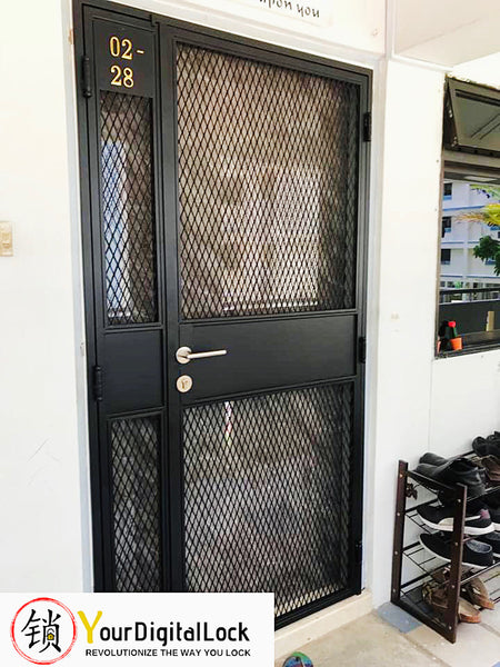 Yourdigitallock Singapore offering affordable prices for doors and gates.