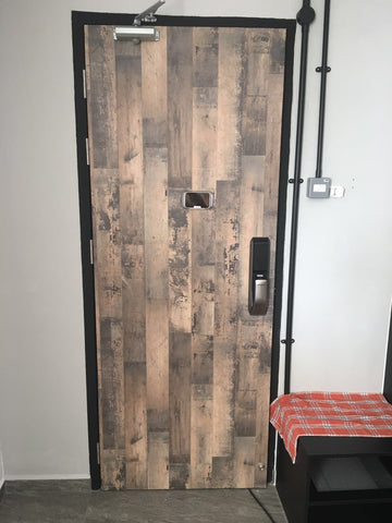 Laminated Single Leaf Fire Rated Main Door