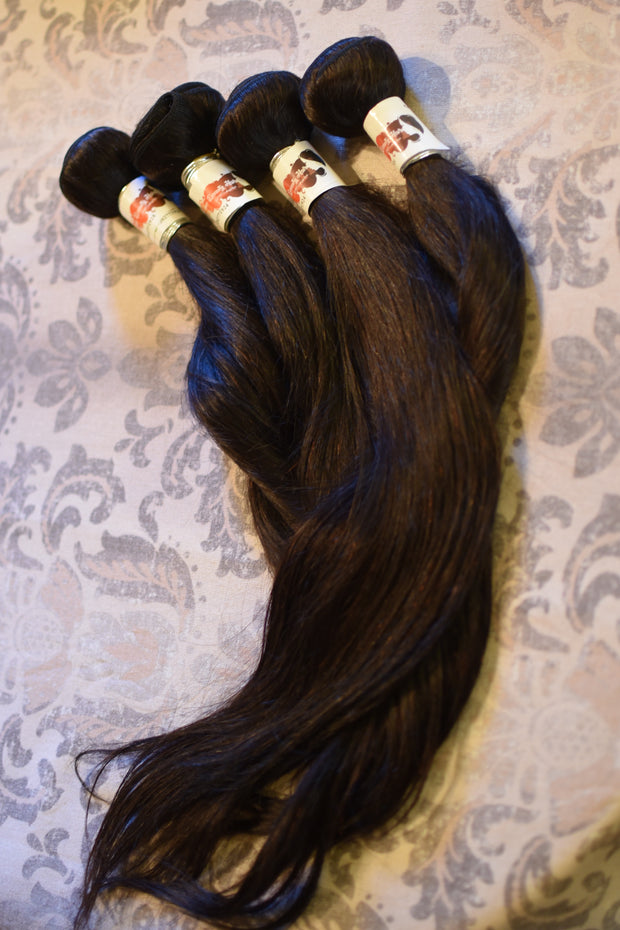 InnoBeauty  10A Peruvian Straight 100% Virgin Hair 3pcs/Lot