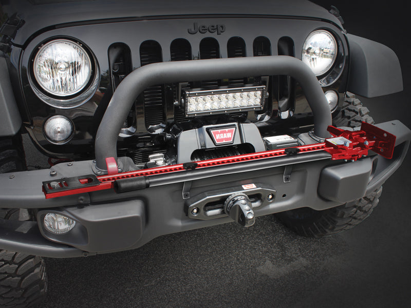 MAXIMUS-3 Hi-Lift Jack Mount to use with 10th Anniversary Bumper for 07-18 Jeep Wrangler JK & JK Unlimited
