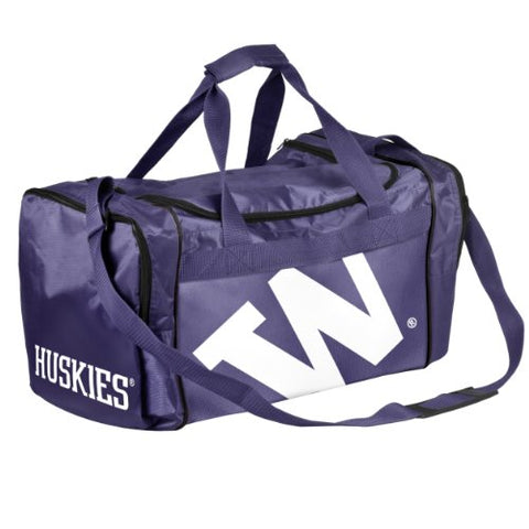 Forever Collectibles NCAA Washington Huskies Core Duffle Bag