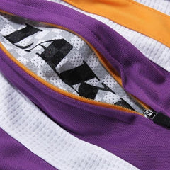Zipway NBA Basketball Youth Los Angeles Lakers Side Stripe Shorts - Purple