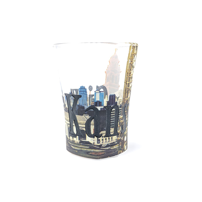 KC Relief - Shot Glass