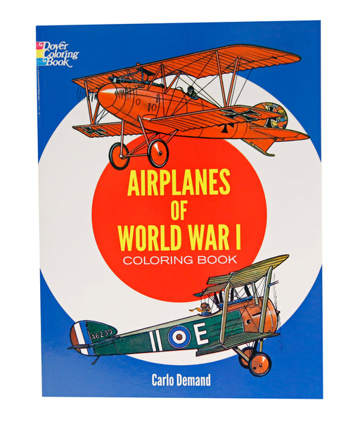Airplanes of World War I Coloring Book