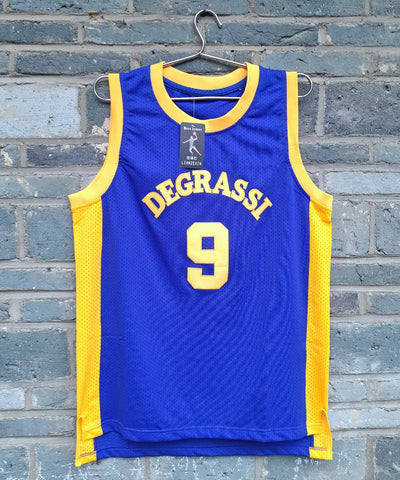 Degrassi Community School Panthers Basketball Jersey