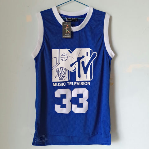 Music Television Blue Color Jersey On Sale