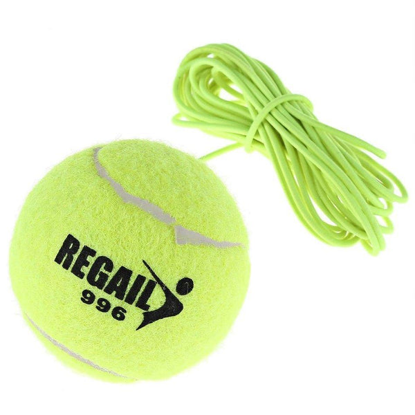 Resiliency Tennis Balls Trainer with String Replacement