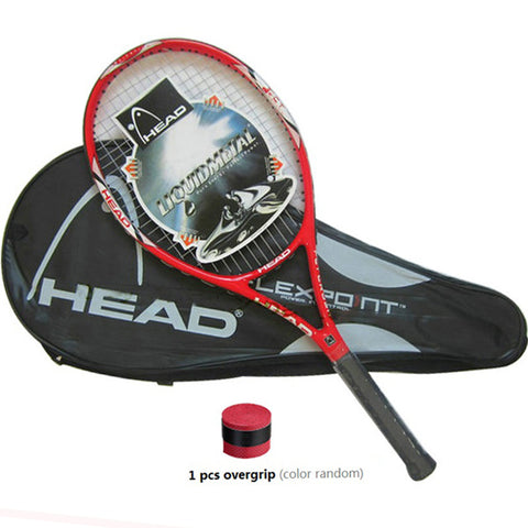 High Quality Carbon Fiber Tennis Racket Racquets Equipped with Bag