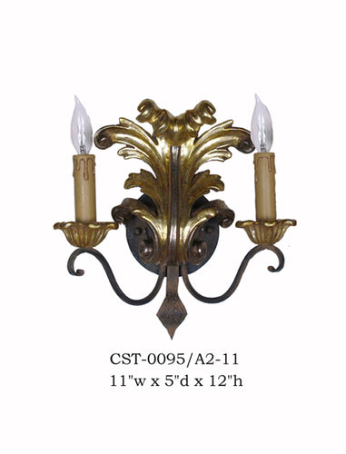 Wood Sconce - CST-0095/A2-11Sconce - Graham's Lighting Memphis, TN