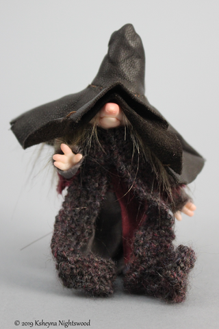 OOAK Bogkyn Mage Brownie Art Doll