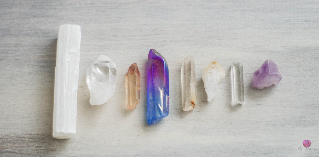 Gemstone Point Kit - Cleanse, Balance Energy