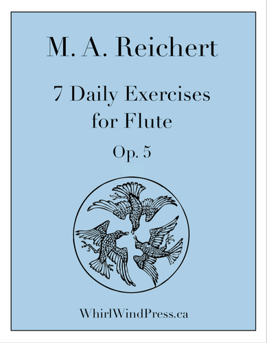 Reichert - 7 Daily Exercises for Flute - Opus 5