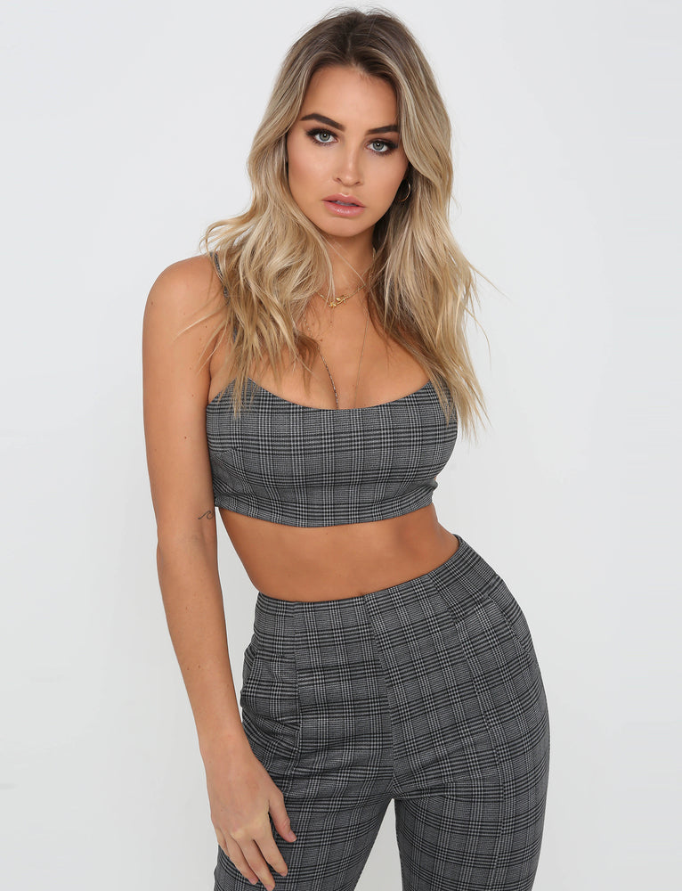 Cloud Nine Crop - Grey