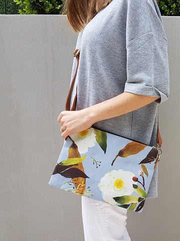 Cross Body Bag - Vintage Paeonia (limited stock)