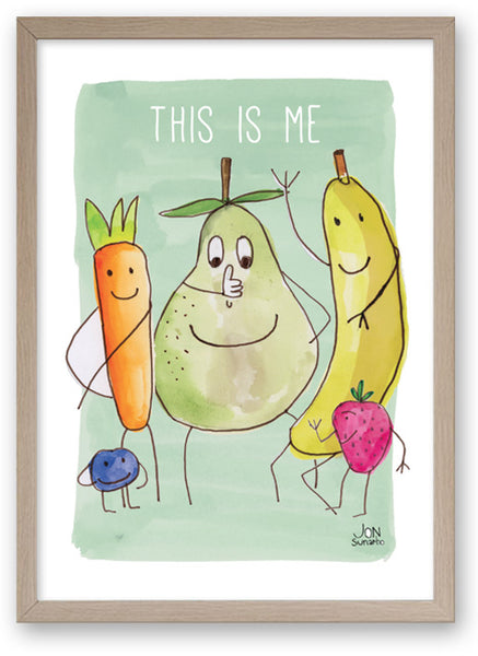 This Is Me - Art Print/ Plaque