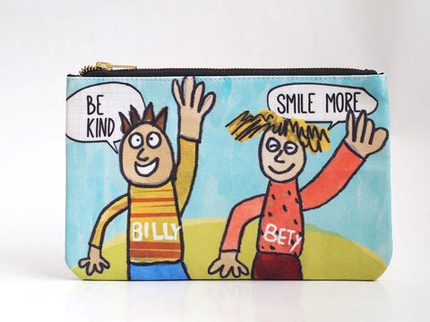 Clutch Bag - Be Kind