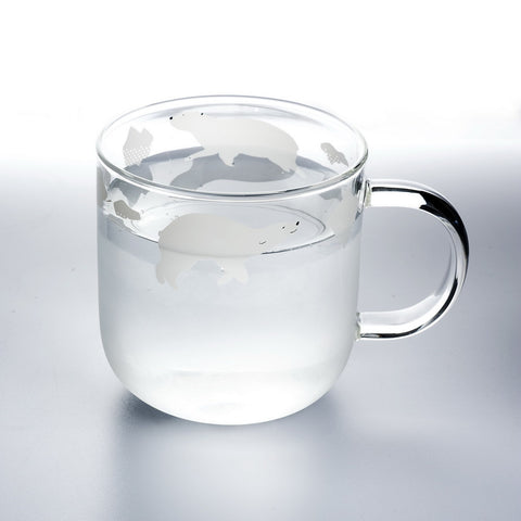 Swimming Polar Bear Cup