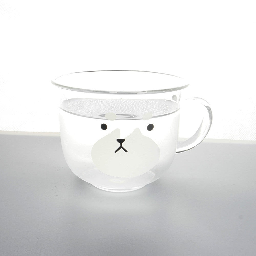 Dog Transparent Cup